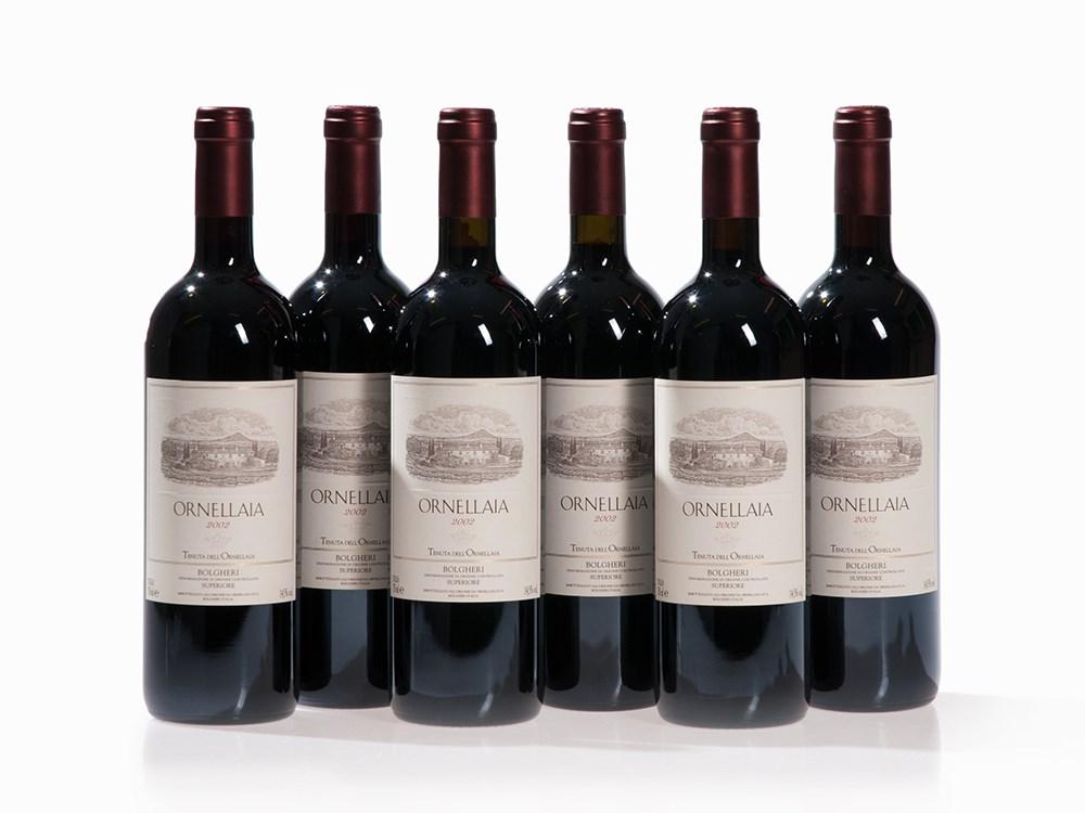 6 Bottles 2002 Ornellaia, Tuscany