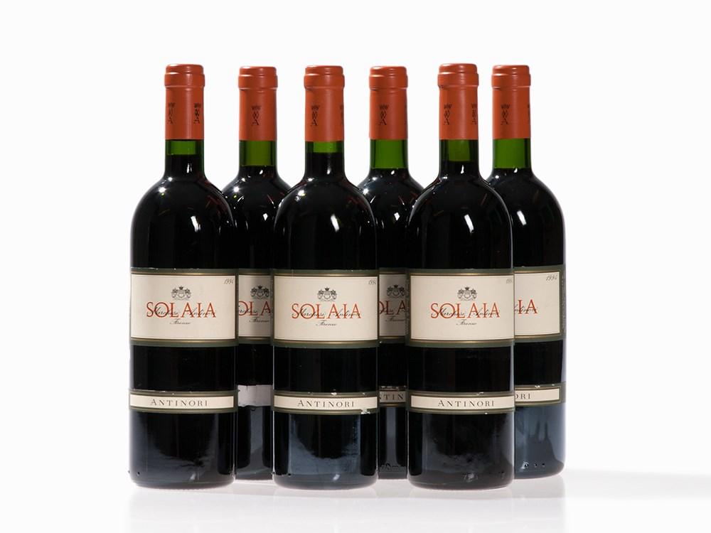 6 Bottles 1994 Antinori Solaia, Tuscany