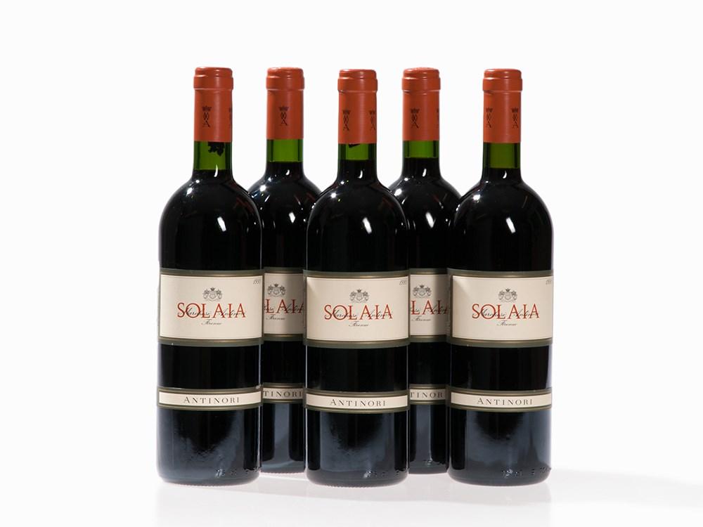5 Bottles 1995 Antinori Solaia, Tuscany