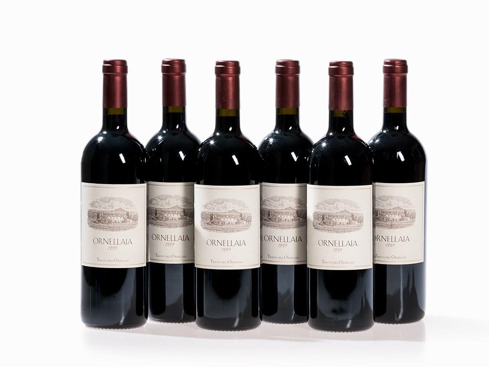 6 Bottles 1999 Ornellaia, Tuscany