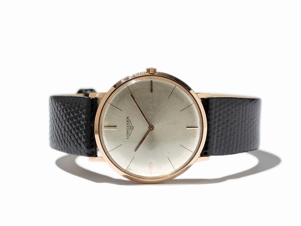 Longines Wristwatch, Switzerland, Around 1965