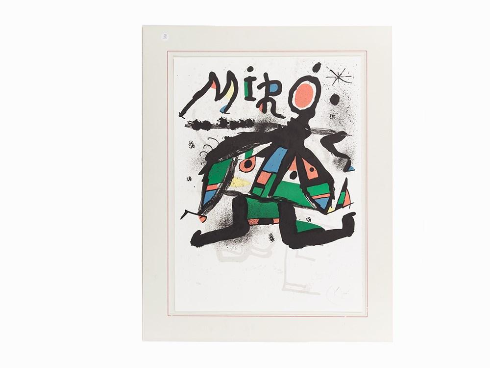 Joan Miró, Color Lithograph, 'Galerie Maeght', Spain, 1978