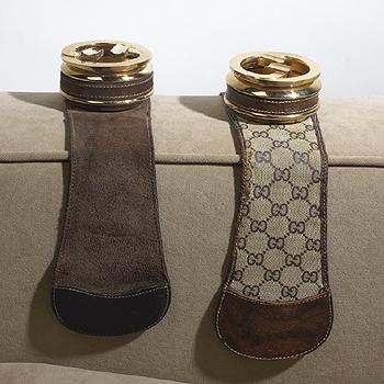 armrest ashtrays, pair