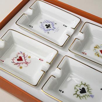 ashtrays, set of four