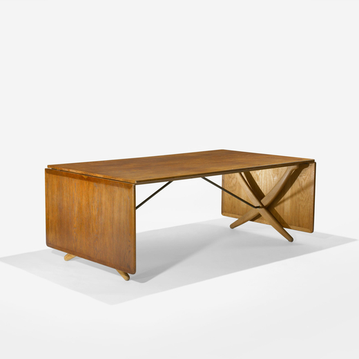 drop-leaf dining table, model AT314
