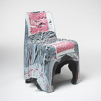 Coca-Cola chair sculpture
