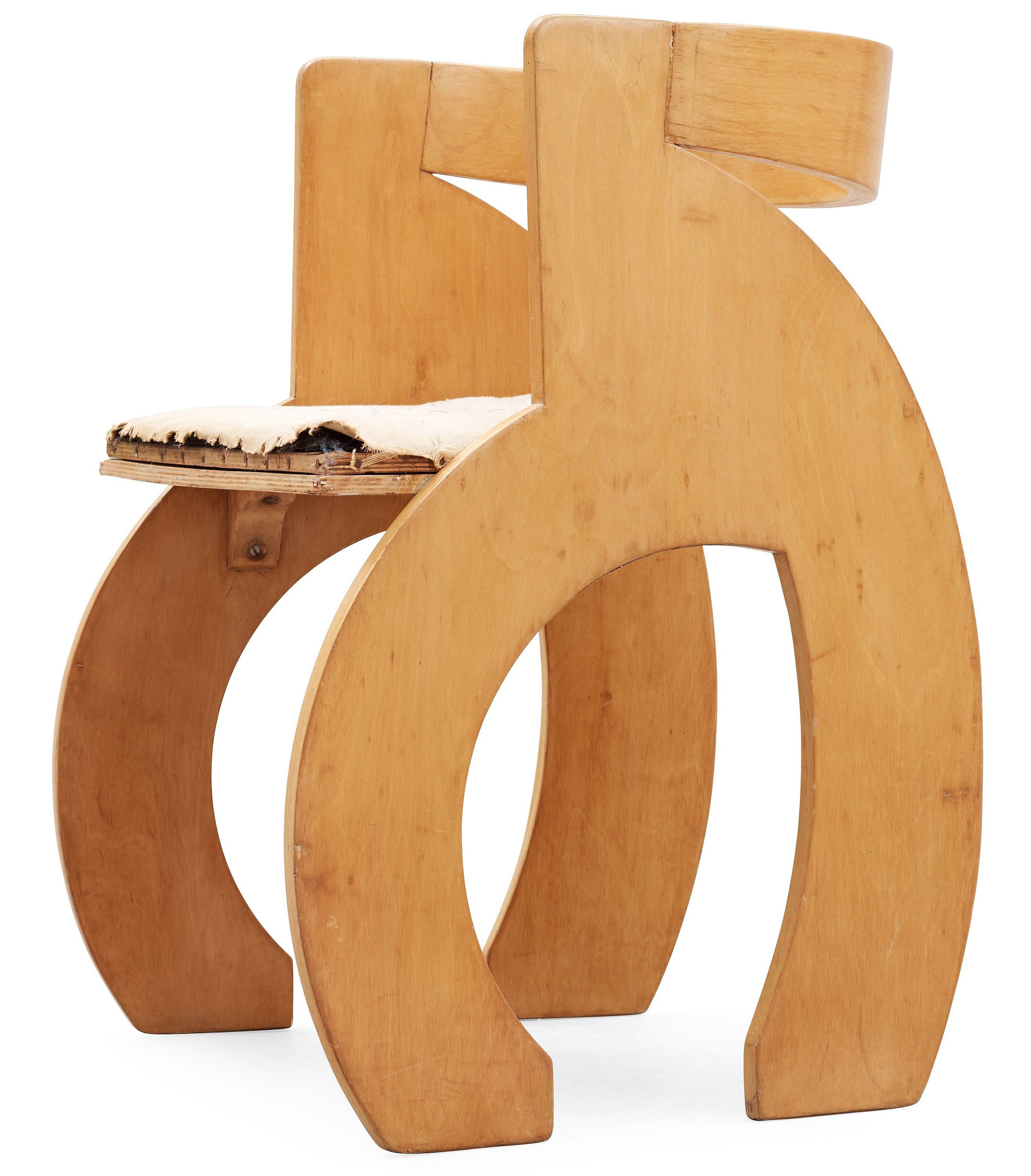 Simple plywood chair - A Gerald Summers Laminated Birch Plywood C