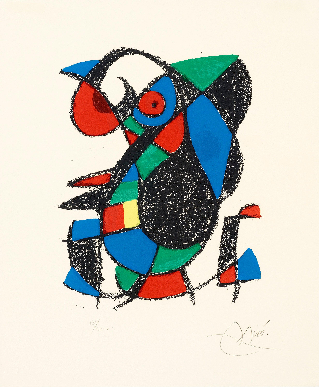"JOAN MIRÓ, Untitled, from: ""Joan Miró Lithographe II""."