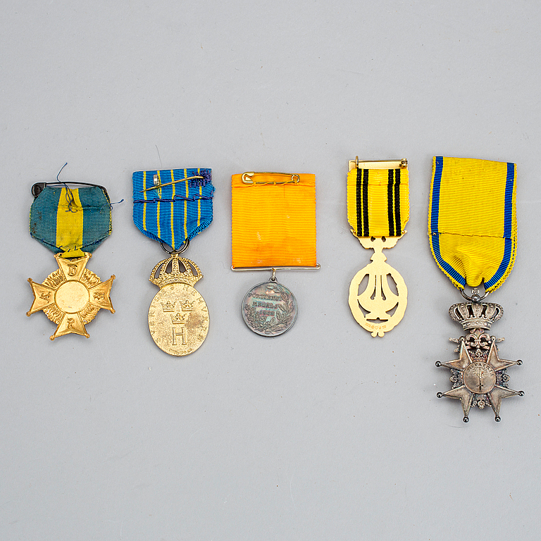 And medals