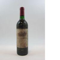1 bouteille CHATEAU AUSONE 1986 1er GCC (A) Saint Emilion (base goulot