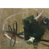 Jean MIOTTE (Né en 1926) - COMPOSITION - Circa 1950