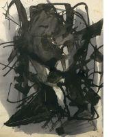 Jean MIOTTE (Né en 1926) - SANS TITRE - 1957
