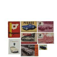 PEGASO - Cinq brochures en espagnol