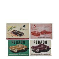 PEGASO - Quatre brochures en français