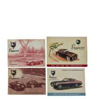 PEGASO - Quatre brochures en anglais