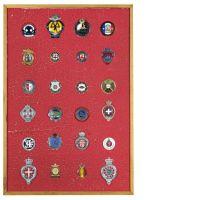 Collection de 24 badges automobiles -