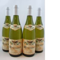 4 bouteilles  MEURSAULT 2006 Domaine Coche Dury -