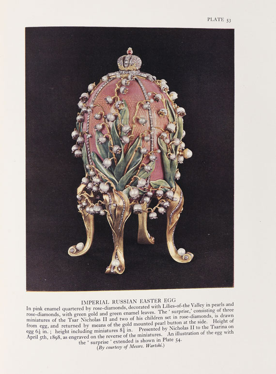 Henry Charles BainbridgePeter Carl,  Faberge. 1949