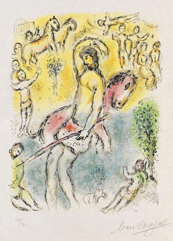 Marc Chagall... ich bin Odysseus, 1974.