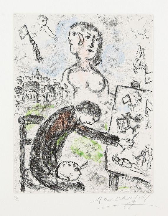 Marc ChagallLe Peintre, 1981.