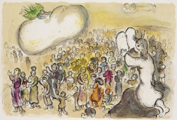 Marc ChagallFrom: The Story of the Exodus, 1966.