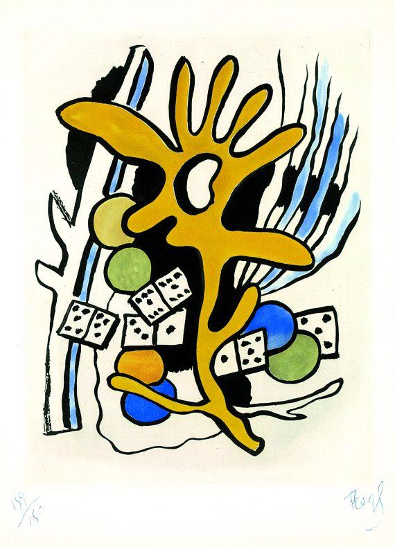 Fernand LégerLes dominos