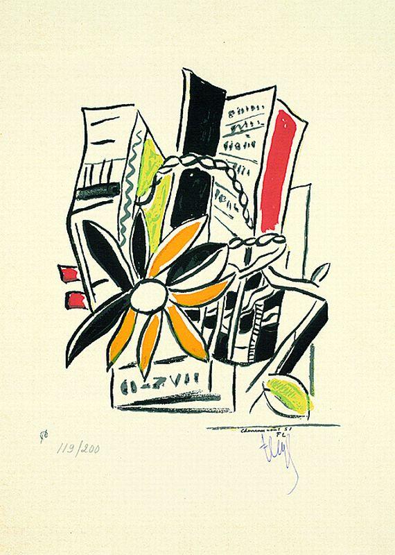 Fernand LégerFrom: Album de 10 sérigraphies, 1951.