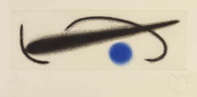 Joan MiróFrom: Fusées, 1959.