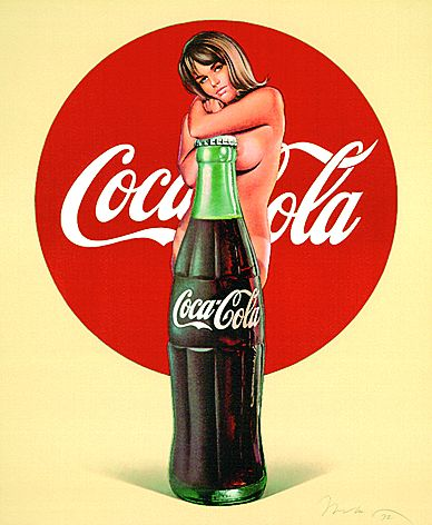 Mel RamosCoca Cola, 1972.