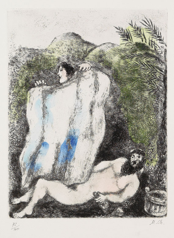 Marc ChagallAus: Bibel, 1958.