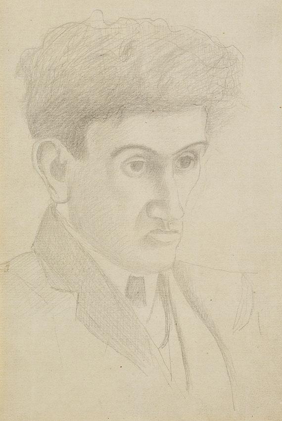 Fernand LégerPortrait of Jean Epstein - Etude pour un portrait, 1930.