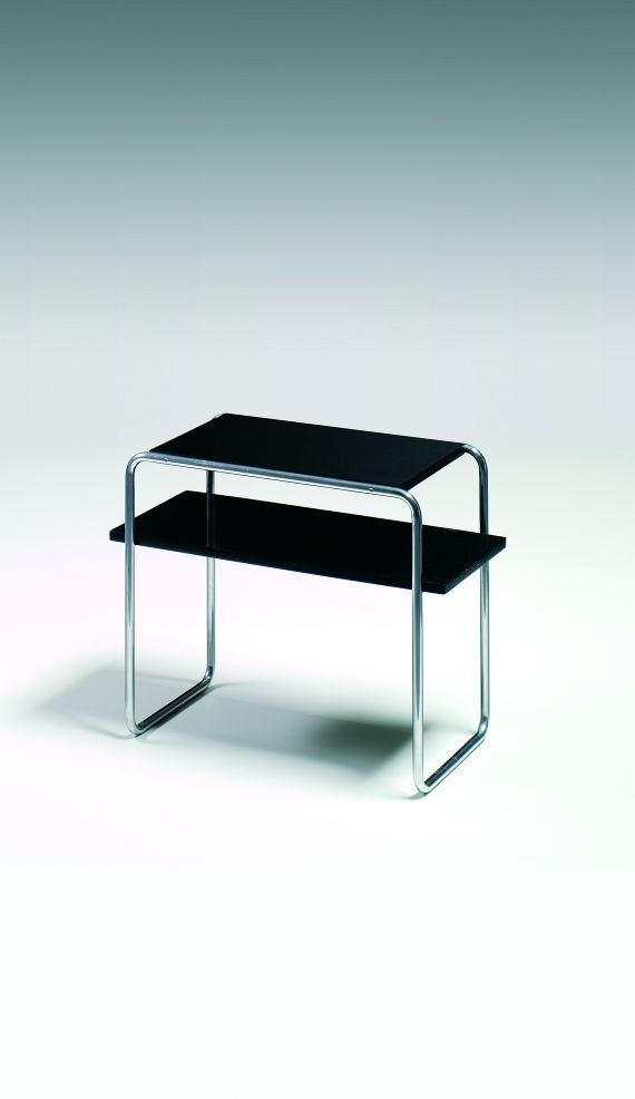 marcel breuer beistelltisch mit zwischenab - Marcel Breuer Tisch