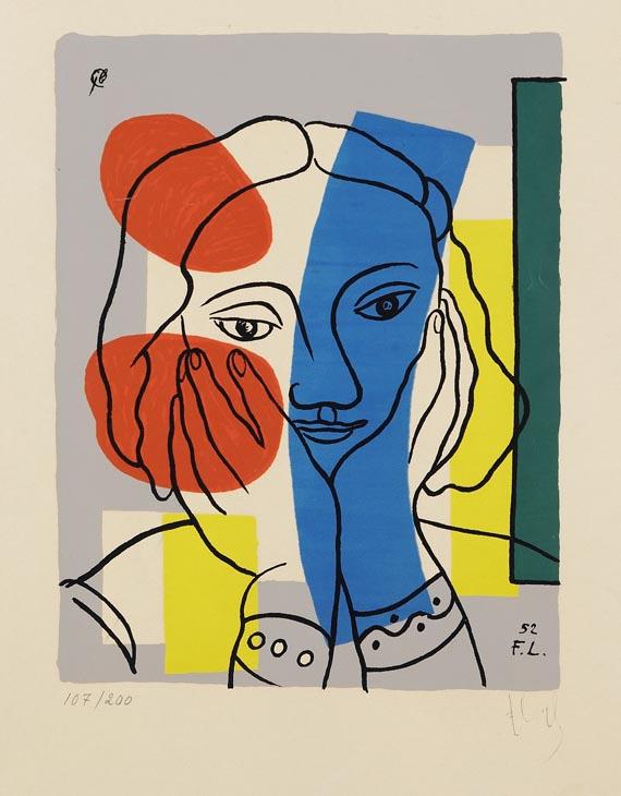 Fernand LégerAus: Album de 10 sérigraphies, 1954.