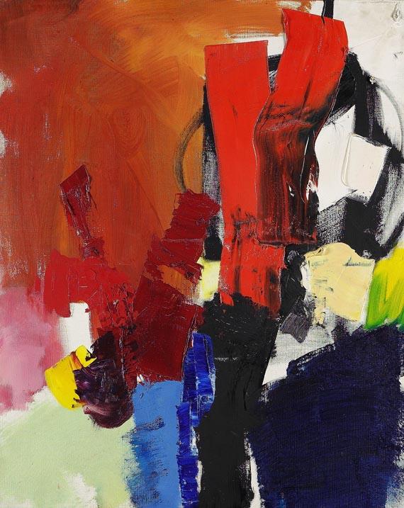 Jean MiotteComposition abstrait, 1969.