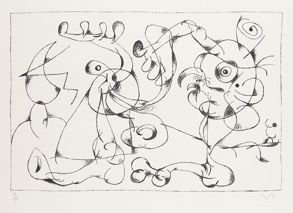 Joan MiróAus: Ubu Roi, 1966.
