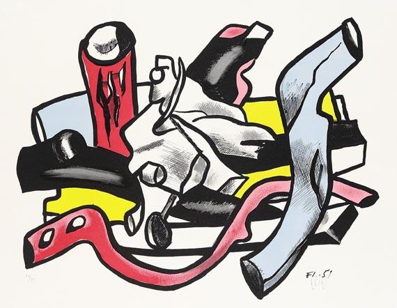 Fernand LégerBranches, 1955.