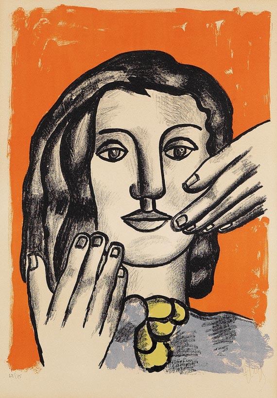 Fernand LégerLa grande Margot, 1951.