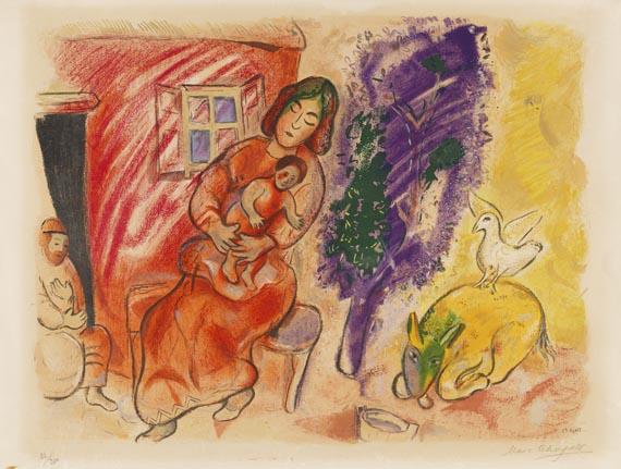 Marc ChagallMaternité, 1954.