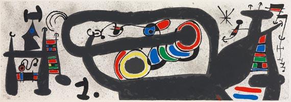 Joan MiróAus: Le lézard aux plumes d'or, 1971.