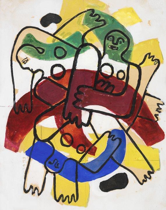 Fernand LégerLes Plongeurs, 1942.