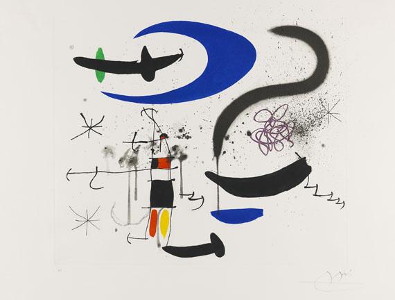 Joan MiróLŽescalier de la nuit, 1970.