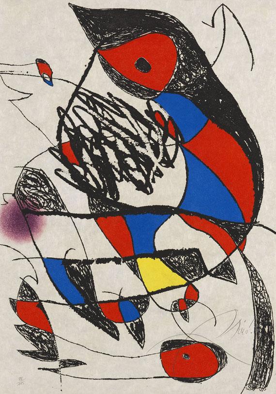 Joan MiróPassage de LŽÉgyptienne, 1979.