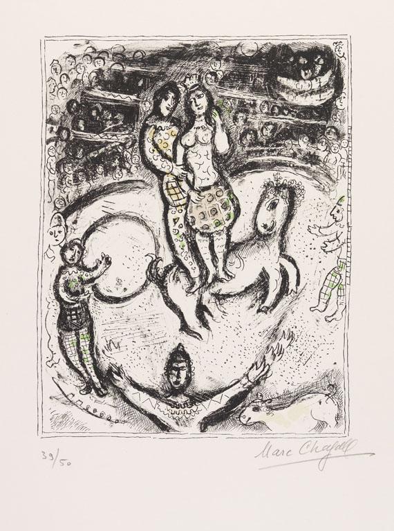 Marc ChagallCirque, 1978.