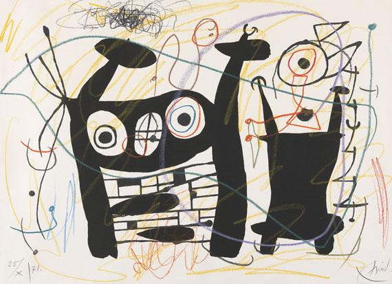 Joan MiróOhne Titel, 1971.