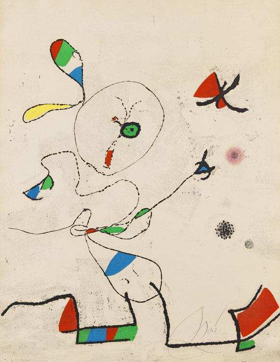 Joan MiróLa Chasse aux Papillons, 1975.