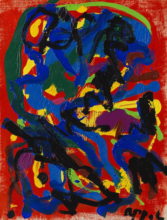 Karel AppelOhne Titel, 1983.