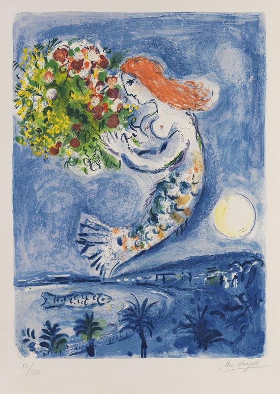 Marc ChagallDie Bucht der Engel, 1962.