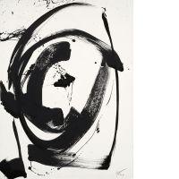 Jean MIOTTE (né en 1926) COMPOSITION, 1998 Acrylique sur papier