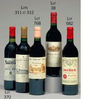 3 bouteilles CHATEAU AUSONE 1989 1er GCC (A) Saint Emilion (étiquettes