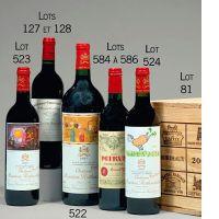 12 bouteilles CAISSE BORDEAUX PRESTIGE : 2 bts : CHATEAU CHEVAL BLANC